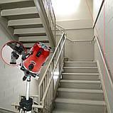 Лазерний рівень Clubiona RT-22 5 ліній 6 точок нівелір Червоні лінії, фото 7