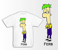 "Дитяча футболка ""Ferb"""