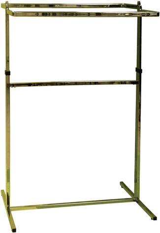 Стойка для торгового зала с двумя дугами, 2.20 на 0.90см, фото 2