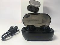 Стильные беспроводные наушники JBL TWS-05 Bluetooth c кейсом для зарядки (черные), фото 1