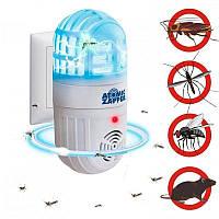 Ультразвуковий відлякувач шкідників і літаючих комах - Atomic Zapper 553, фото 1
