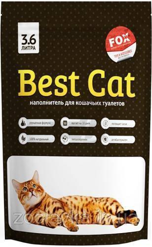 """Силикагелевый наповнювач """"Best Cat"""" Бест Кет Classic 15л/2кг"""
