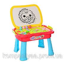 Дитячий ігровий столик для малювання 0503MR (Червоний)