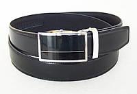 Мужской кожаный ремень-автомат ALON для брюк, фото 1