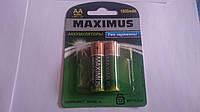 Аккумуляторные батарейки MAXIMUS HR6 1800 mAh