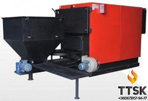 Сталевий промисловий твердопаливний котел з автоматичною подачею палива RDA RK3G/S 720, 838 квт