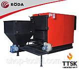 Сталевий промисловий твердопаливний котел з автоматичною подачею палива RDA RK3G/S 720, 838 квт, фото 2