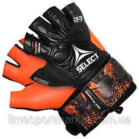 Перчатки вратарские Select 33 Futsal Liga (201) черн/оранж р.8