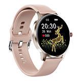 Смарт часы Фитнес браслет трэккер Smart Watch LW29 пульсометром тонометром Full-touch Screen розовые + Подарок, фото 4