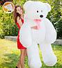Супер Большой плюшевый мишка-великан 200 см, белый, фото 2