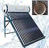 Солнечный вакуумный коллектор, с баком и теплообменником - СБт200