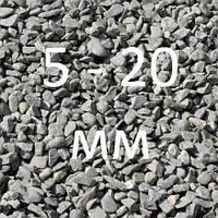 Щебень 5-20 мм.в мешках по 0.33м3