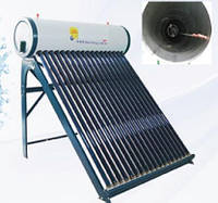 Солнечный вакуумный коллектор, с баком и тепловой трубкой - SP-H1-30, фото 1
