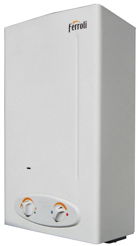 Дымоходные газовые колонки Ferroli Zefiro C11