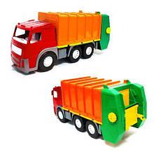 Мусоровоз игрушка с контейнером Акрос (красная) 0565
