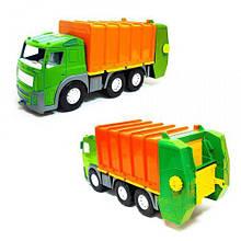 Машинка Мусоровоз с контейнером Акрос (зеленый) 0565