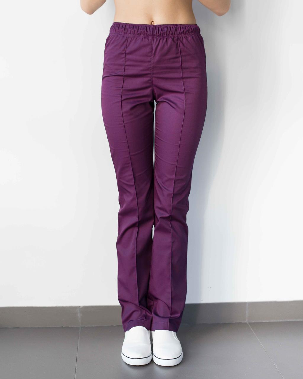 Медичні жіночі штани фіолетові