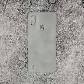 Чехол для ZTE Blade A51 силиконовый бампер (ЗТЕ Блейд А51), Полупрозрачный