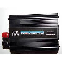 Преобразователь напряжения, автомобильный Инвертор UKC 500W