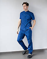 Мужской медицинский костюм Бостон сапфир, фото 1