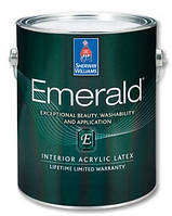 Sherwin Williams Emerald миюча матова фарба для стін  3,63