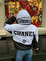 Женская укороченная курточка под бренд, фото 1