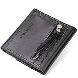 Портмоне карманное 11336 Grande Pelle Черное, фото 2