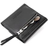 Портмоне карманное 11336 Grande Pelle Черное, фото 6