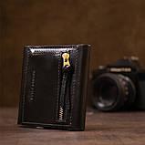 Портмоне карманное 11336 Grande Pelle Черное, фото 8