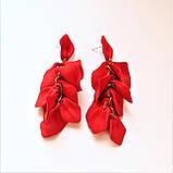 """Серьги """"Праздник приближается"""", красный, фото 2"""