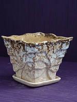 Горшок керамический паучок