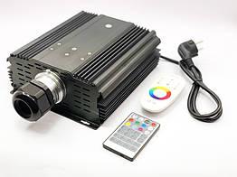 LED проектор 45W White з ефектом мерехтіння, з пультом управління