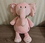 Плед игрушка подушка 3 в1 Слоник  Игрушка детский плед   Игрушки-Подушки   Мягкая игрушка Серого цвета, фото 2