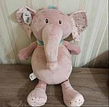 Плед игрушка подушка 3 в1 Слоник  Игрушка детский плед   Игрушки-Подушки   Мягкая игрушка Серого цвета, фото 5