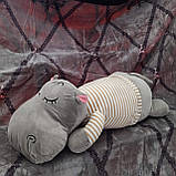 Плед игрушка подушка 3 в1 Слоник  Игрушка детский плед   Игрушки-Подушки   Мягкая игрушка Серого цвета, фото 8