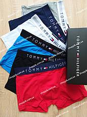 Набір чоловічих трусів Tommy Hilfiger 5 штук | Чоловічі труси боксери, фото 2