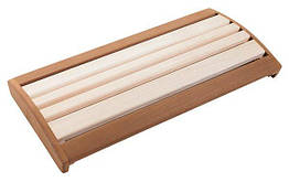 Подспинник для бани и сауны / липа с термовставкой 600 мм