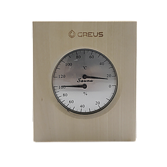 Термогигрометр Greus 16х14,5 липа