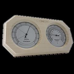 Термогигрометр Greus 26х14 липа