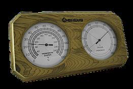 Термогігрометр Greus 26х14 кедр