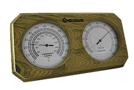 Термогигрометр Greus кедр 26х14