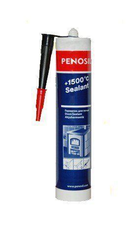 Термостійкий герметик Penosil +1500C для печей камінів димоходів