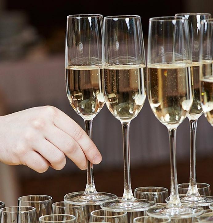 Бокалы для шампанского Luminarc Allegresse 175 мл /12шт в уп/ L0040