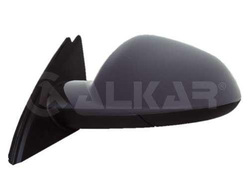 Дзеркало заднього виду праве (електро/підігрів) (під фарбування) (бокове, зовнішнє) Opel Insignia A 08-17 ALKAR