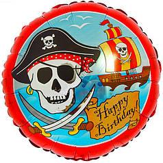 """Коло 18"""" FLEXMETAL-ФМ Happy Birthday - пірат"""