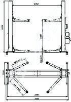 Електромеханический подъемник для гаража сто, фото 1