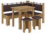 Кухонный уголок с раскладным столом Гетьман  (Пехотин) 1500х1100х850мм, фото 6
