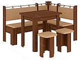 Кухонный уголок с раскладным столом Гетьман  (Пехотин) 1500х1100х850мм, фото 7