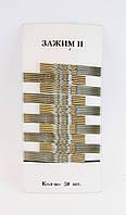 Невидимка для волос металл-50 шт.- 5,3 см.