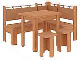 Кухонный уголок с раскладным столом Гетьман  (Пехотин) 1500х1100х850мм, фото 8